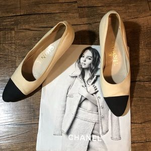 Chanel Vintage Canvas Shoes
